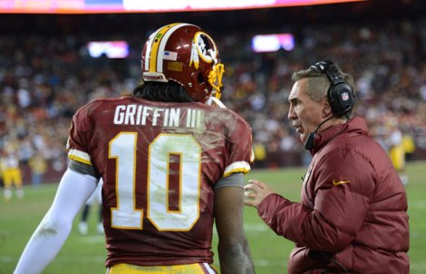 Shanahan Griffin Redskins Playoffs